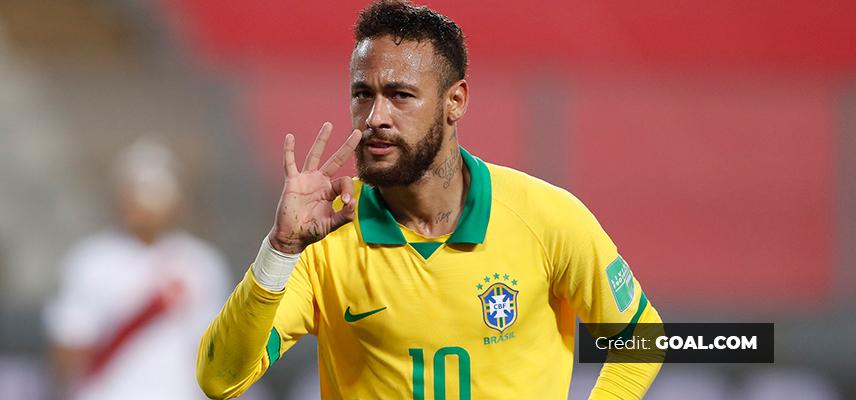 Neymar Jr via GOAL.COM