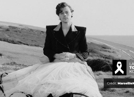 Harry Styles en robe pour Vogue - Crédit : MarseilleNews.net