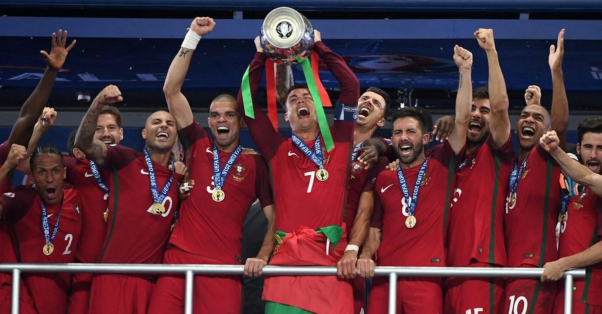 Porugal : équipe championne de l'Euro 2016